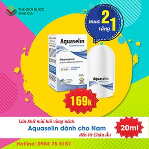 aquaselin nam khuyến mại 2 tặng 1